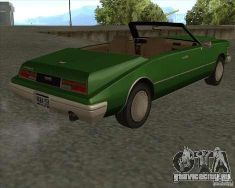 HD Idaho для GTA San Andreas вид сзади