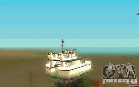 Ferry для GTA San Andreas вид сзади слева