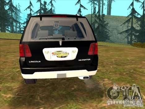 Lincoln Navigator для GTA San Andreas вид слева