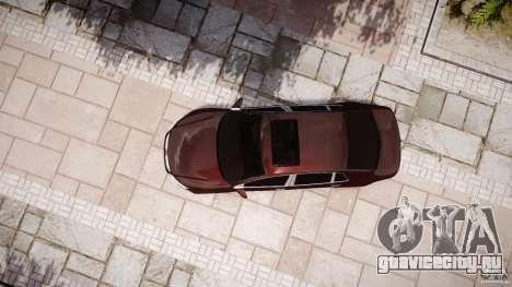 Volkswagen Phaeton W12 Long для GTA 4 вид сбоку