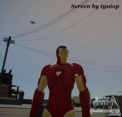 Iron Man Mk3 Suit для GTA 4
