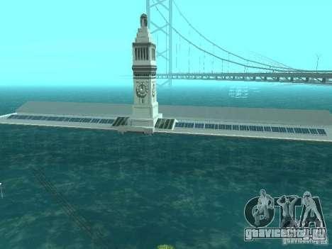 Наводнение для GTA San Andreas четвёртый скриншот