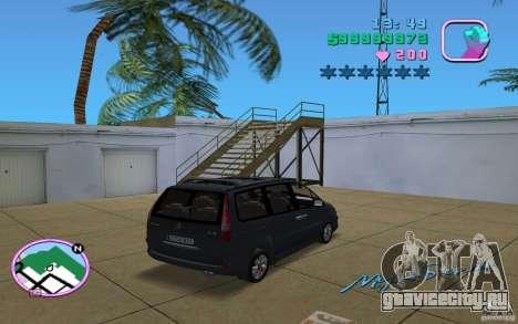 Citroen C8 для GTA Vice City вид слева