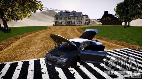 Audi R8 2008 для GTA 4 вид сбоку
