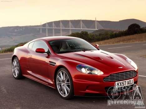 Aston Martin DBS V12 для GTA Vice City вид справа