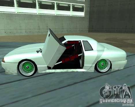New elegy для GTA San Andreas вид снизу