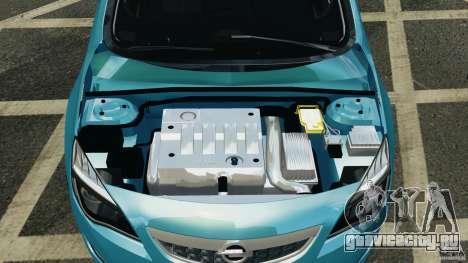 Opel Astra 2010 v2.0 для GTA 4 вид сзади