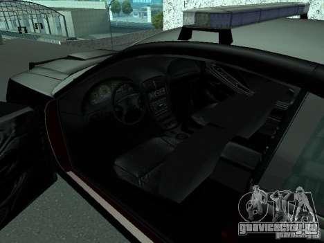 Ford Mustang GT Police для GTA San Andreas вид сзади слева