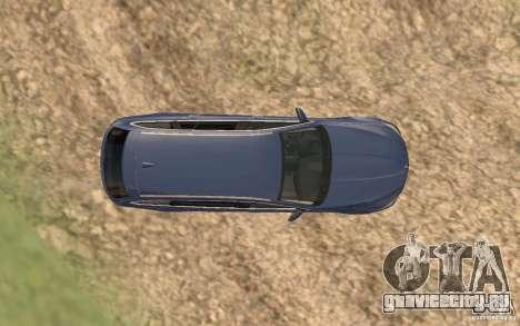 BMW M5 F11 Touring для GTA San Andreas салон