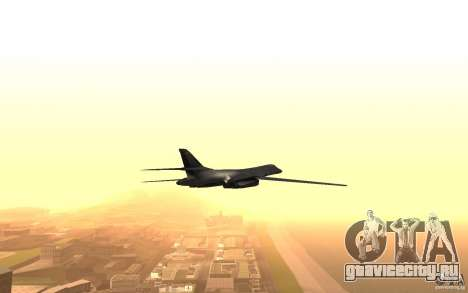 B1-B LANCER для GTA San Andreas вид сбоку