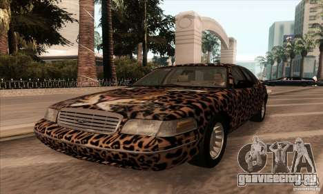 Ford Crown Victoria 2003 для GTA San Andreas вид сбоку