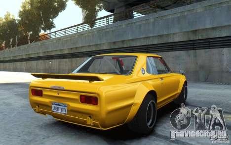 Nissan Skyline 2000GT-R C10 Speedhunters для GTA 4
