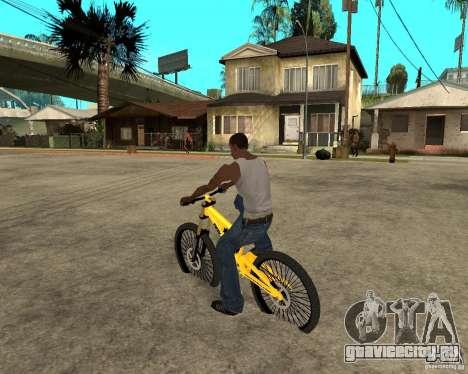Nox Startrack DH 9.5 для GTA San Andreas вид слева