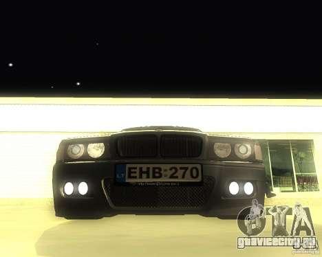 BMW 740i Update для GTA San Andreas вид слева