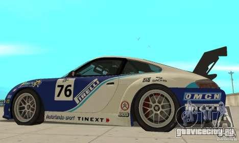 Porsche 911 Le GRID для GTA San Andreas вид сзади слева
