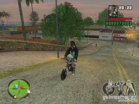 NEW Ryder для GTA San Andreas четвёртый скриншот