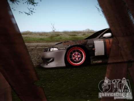 Nissan Silvia S14 Hell для GTA San Andreas вид сзади