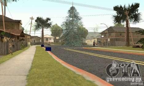 Новогодняя ёлка для GTA San Andreas второй скриншот