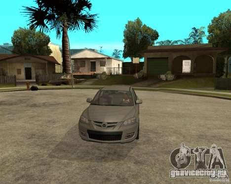 Mazda 3 Sport 2003 для GTA San Andreas вид сзади
