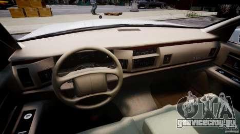 Buick Roadmaster Sedan 1996 v1.0 для GTA 4 вид сзади