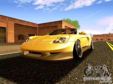 Toyota MR-S для GTA San Andreas вид сзади