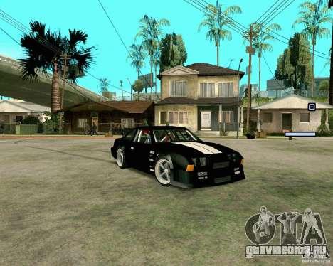Hotring Racer Tuned для GTA San Andreas вид слева