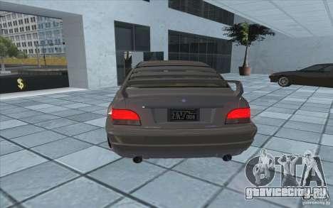 Sentinel из GTA 4 для GTA San Andreas вид сзади слева