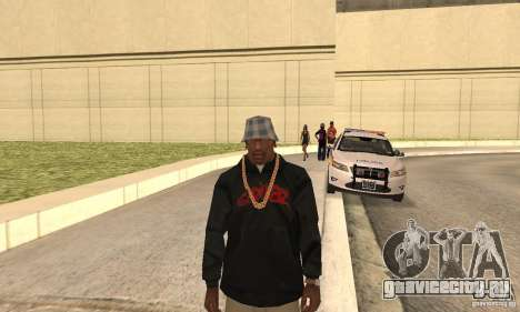 Gorillaz skin для GTA San Andreas