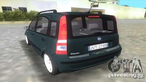 Fiat Panda 2004 для GTA Vice City вид слева