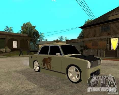 Ваз 2101 D-LUXE для GTA San Andreas вид справа
