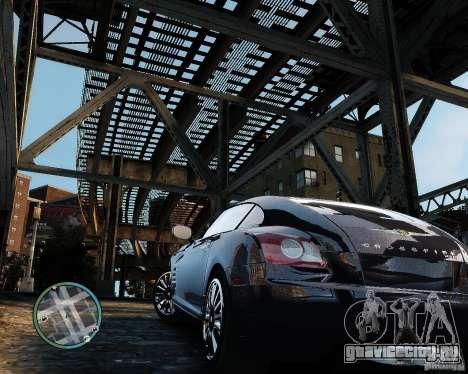 2007 Chrysler Crossfire для GTA 4 вид сзади слева