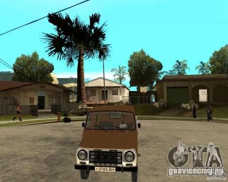 ЛуАЗ-13021-04 для GTA San Andreas вид сзади