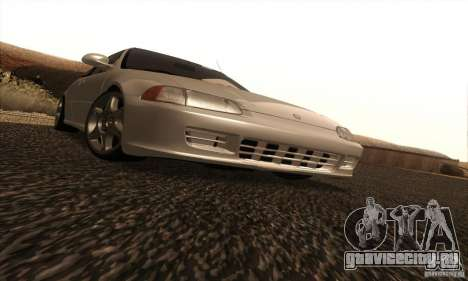 Honda Civic VTI 1994 для GTA San Andreas вид изнутри
