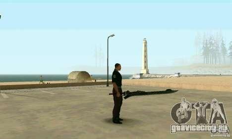Меч Неро из Devil May Cry 4 для GTA San Andreas второй скриншот