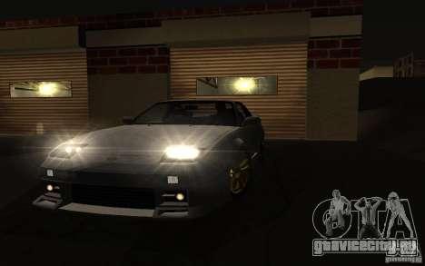 Nissan 240SX X1800 для GTA San Andreas вид сзади слева