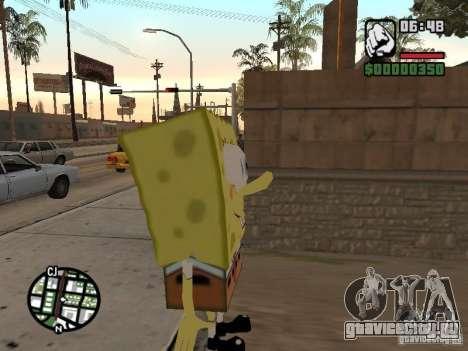 Sponge Bob для GTA San Andreas второй скриншот