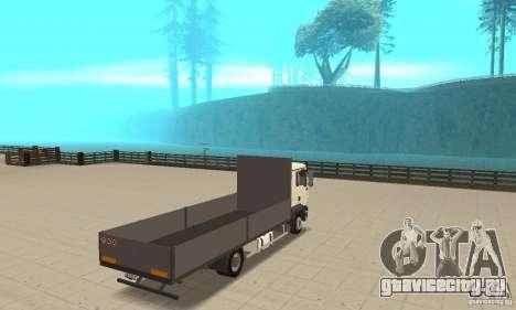 MAN TGL для GTA San Andreas вид слева