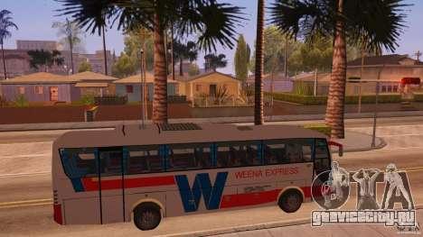 Weena Express для GTA San Andreas вид справа