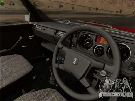 Lada 2105 RIVA (Экспортная) 2.0 для GTA San Andreas колёса