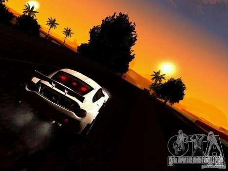 BMW Z4 Rally Cross для GTA San Andreas вид изнутри