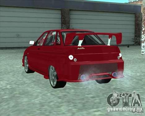 ВАЗ 21103 Уличный Тюнинг v1.0 для GTA San Andreas вид слева