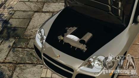 Porsche Cayenne Turbo 2003 для GTA 4 вид сбоку