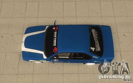BMW E34 V8 для GTA San Andreas вид справа