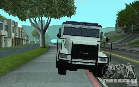 Securicar из GTA IV для GTA San Andreas вид сверху