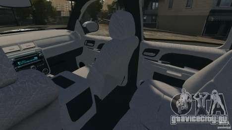 Chevrolet Avalanche Stock [Beta] для GTA 4 вид изнутри