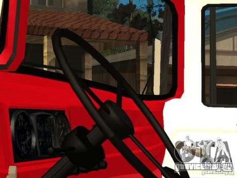 ЗиЛ 131 пожарная для GTA San Andreas вид сзади слева