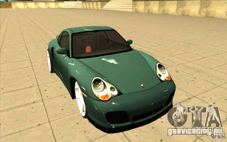 Porsche 911 Turbo для GTA San Andreas вид сзади