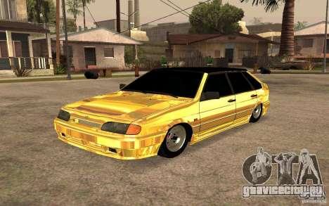 ВАЗ 2114 GOLD для GTA San Andreas