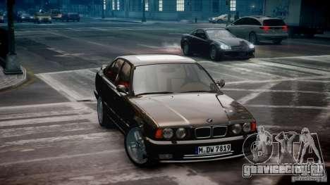 BMW M5 (E34) 1995 v1.0 для GTA 4 вид слева