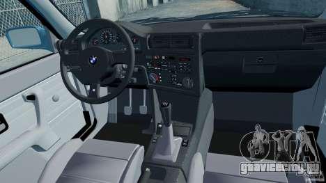 BMW M3 E30 FINAL для GTA 4 вид изнутри